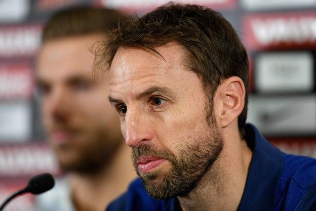 サッカーイングランド代表のガレス・サウスゲート暫定監督 参考画像(2016年11月10日)(c) Getty Images