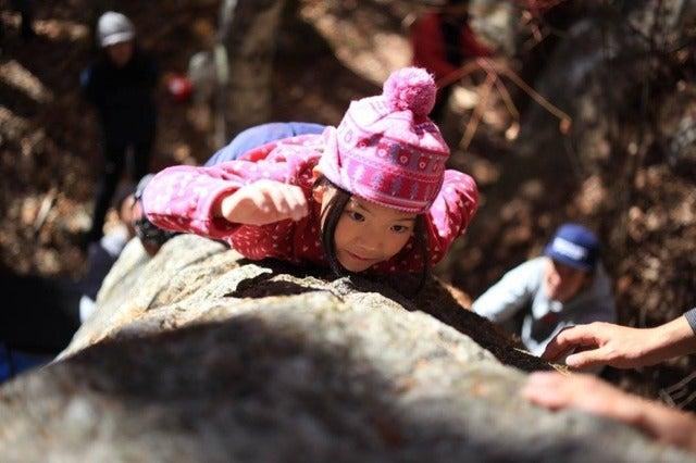 ザ・ノース・フェイス、親子で体験できる「ファミリークライミングin瑞牆山エリア」開催