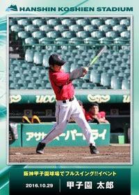 甲子園のバッターボックスでバッティング体験「阪神甲子園球場でフルスイング!!」開催