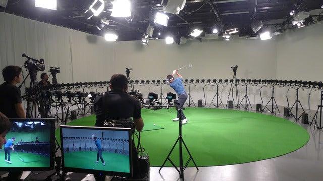 スイングを分析するゴルフレッスン番組「スイング360度」開始