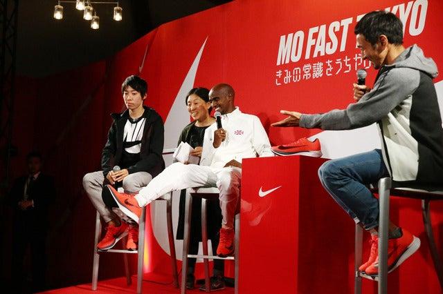 ロンドン大会10000m金メダルのモハメド・ファラー、強さの秘密を語る提供:ナイキジャパン
