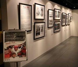 日米の野球に対する愛を発信する「日米野球外交特別展示」開催