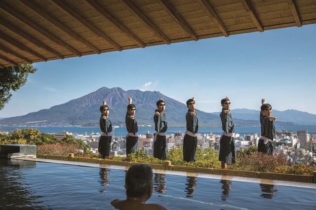 鹿児島実業男子新体操部が西郷どんに!ダンスで鹿児島市を紹介