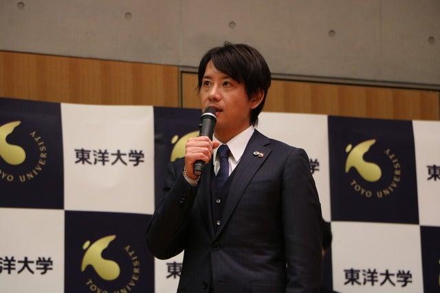 陸上競技部長距離部門 酒井俊幸監督撮影:山本有莉