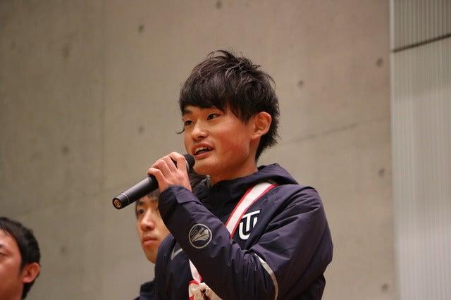 1区・西山和弥選手(1年)撮影:山本有莉