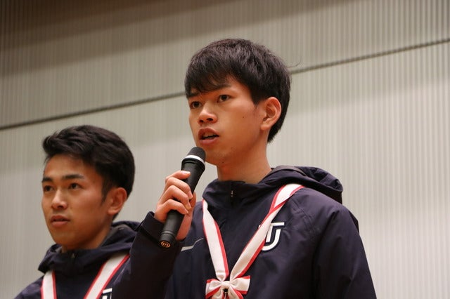 3区・山本修二選手(3年)撮影:山本有莉