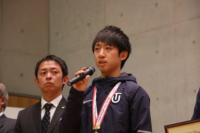 10区・小笹椋選手(3年)撮影:山本有莉