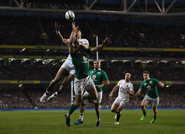 アイルランドvsイングランド(2017年3月18日)(c)Getty Images