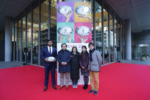 村田諒太、小島瑠璃子らが祝福!ラグビーワールドカップ2019日本大会のチケット販売開始