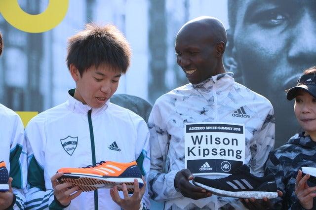 """「シューズは10%の影響力がある」東京マラソン王者ウィルソン・キプサングが思う""""良いシューズ""""とは"""