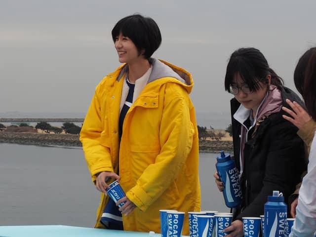 ポカリガール・小貫莉奈が東京マラソンを応援!「東京サプライ少女」公開