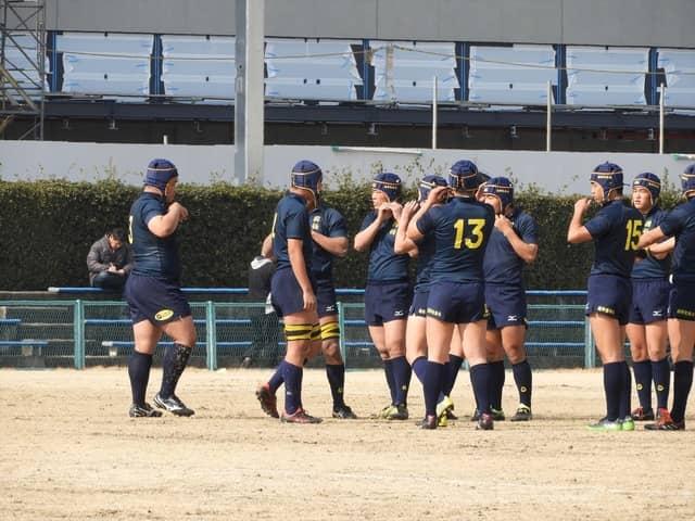 試合前の國學院栃木の選手たち撮影:手束仁