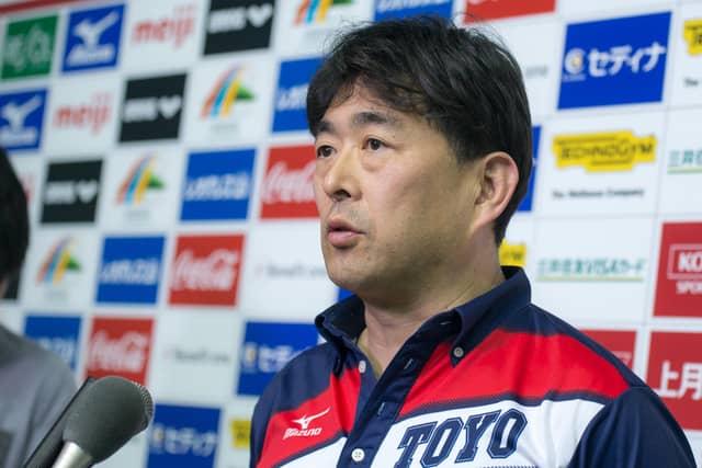 競泳日本代表の平井伯昌ヘッドコーチ(2018年2月18日)撮影:五味渕秀行