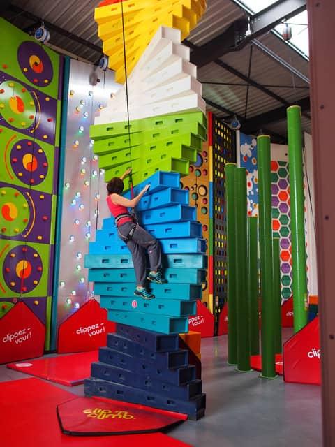 デジタルボルダリングとエクストリームランの屋内アトラクション施設「ノボランマ」3月オープン