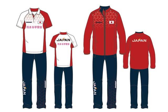 ボッチャ日本代表公式ユニフォーム、ゴールドウインが提供