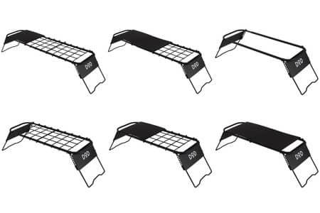 バーナースタンド、テーブル一体型のアウトドア用キッチン発売