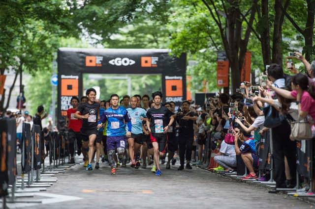 企業単位で参加するランイベント「ブルームバーグ スクエア・マイル・リレー 東京」5月開催