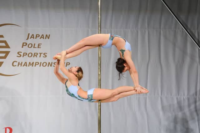 ポールを使って芸術性や難易度を競う「全日本ポール・スポーツ選手権大会」開催