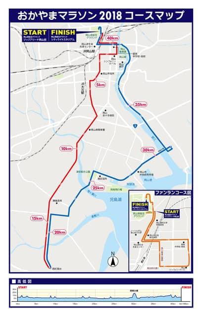 岡山城や岡山後楽園などを巡る「おかやまマラソン」11月開催