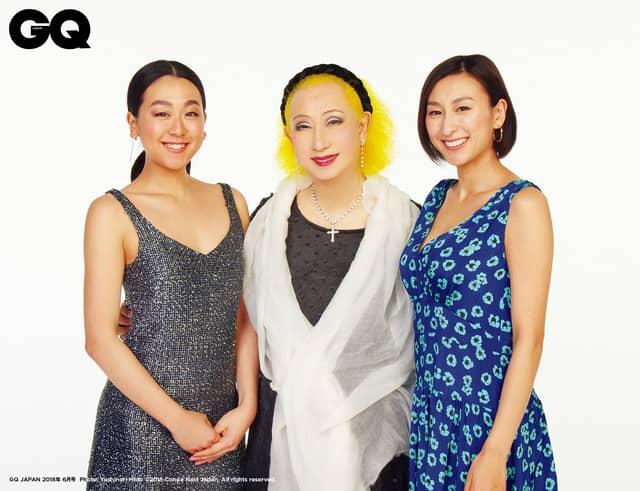 浅田真央、舞が70年代ディスコ風ルックで登場!「GQ JAPAN」発売