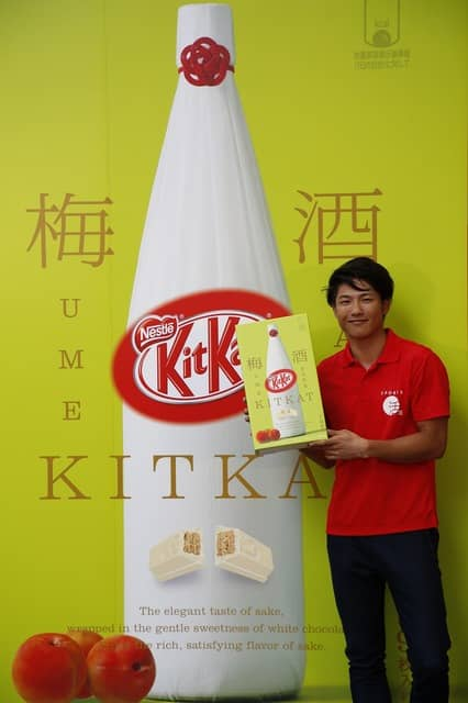 成田緑夢がキットカット新製品試食イベントに登場「オリンピック、パラリンピックどちらかに挑戦したい」