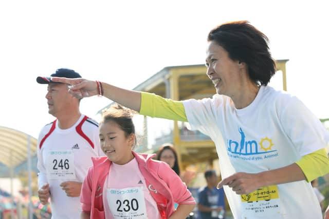 有森裕子と一緒に走る「親子チャリティマラソン」6月開催