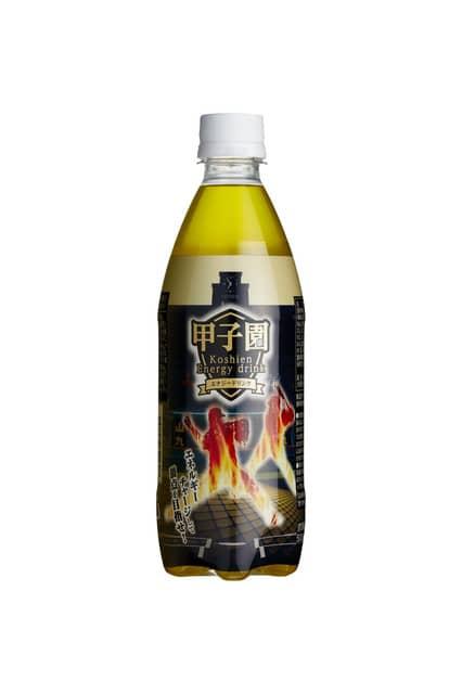 甲子園デザインのエナジードリンク&塩はちみつレモン発売