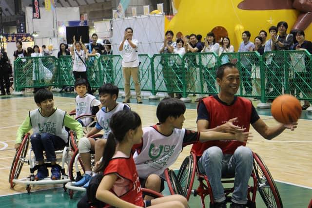 パラスポーツ体験イベント「i enjoy ! パラスポーツパーク」が東京おもちゃショーで開催