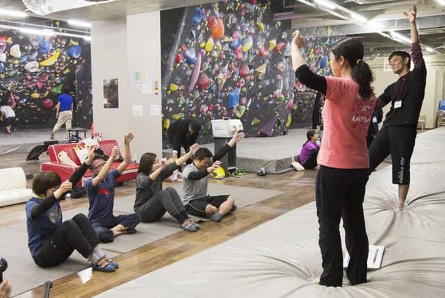 障害があってもなくても参加できる交流型ボルダリングイベント開催