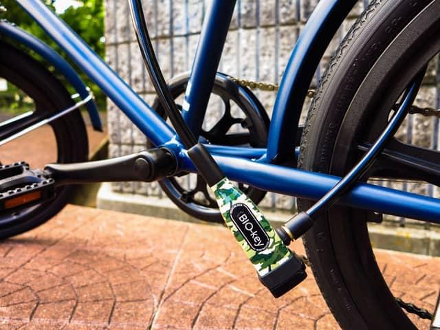 アサヒサイクル、指紋で開錠できる自転車用ロック「TouchLock」発売