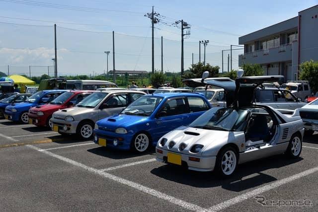群馬自動車大学校 第1回 昭和平成のクラシックカーフェスティバル《撮影 嶽宮三郎》