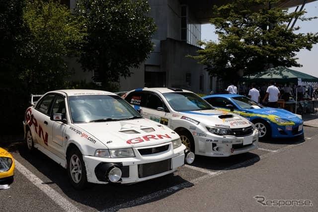 第1回 しぶかわ昭和の車展示会inスカイテルメ渋川《撮影 嶽宮三郎》