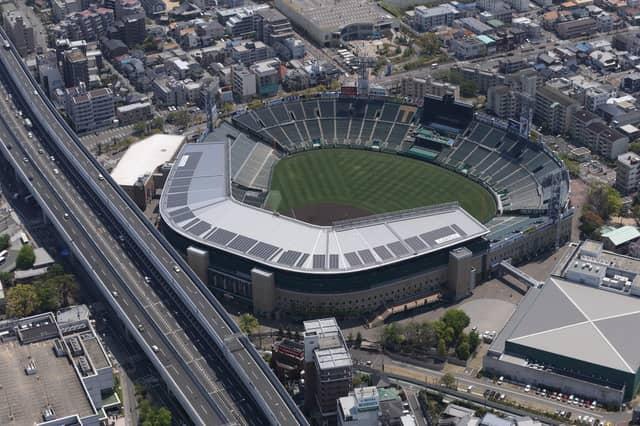 阪神甲子園球場承認!外野スタンドを再現した「甲子園皿」発売