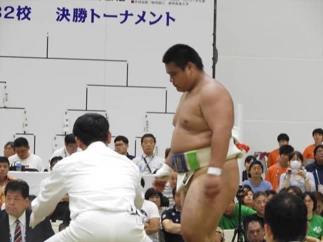 健闘した飛龍・鈴木優斗君撮影:手束仁