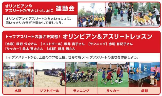オリンピック、パラリンピック出場選手が参加するスポーツイベントが那須塩原で開催