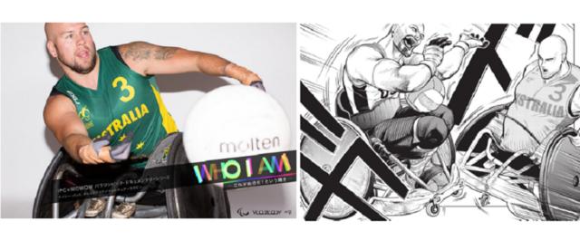 「パラリンピック・ドキュメンタリーシリーズ WHO I AM」 のコミック化が決定