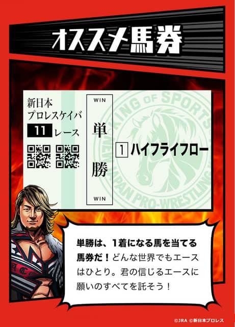 JRA×新日本プロレス、性格診断コンテンツ「新日本プロレスケイバ」公開