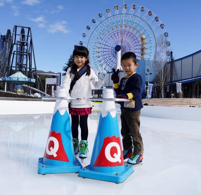 富士急ハイランド、屋外スケートリンクを首都圏一早い11/9オープン