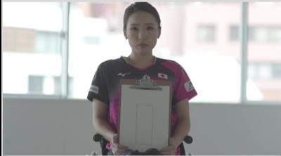 パラ卓球選手が見ている卓球台を具現化した「変形する卓球台」公開