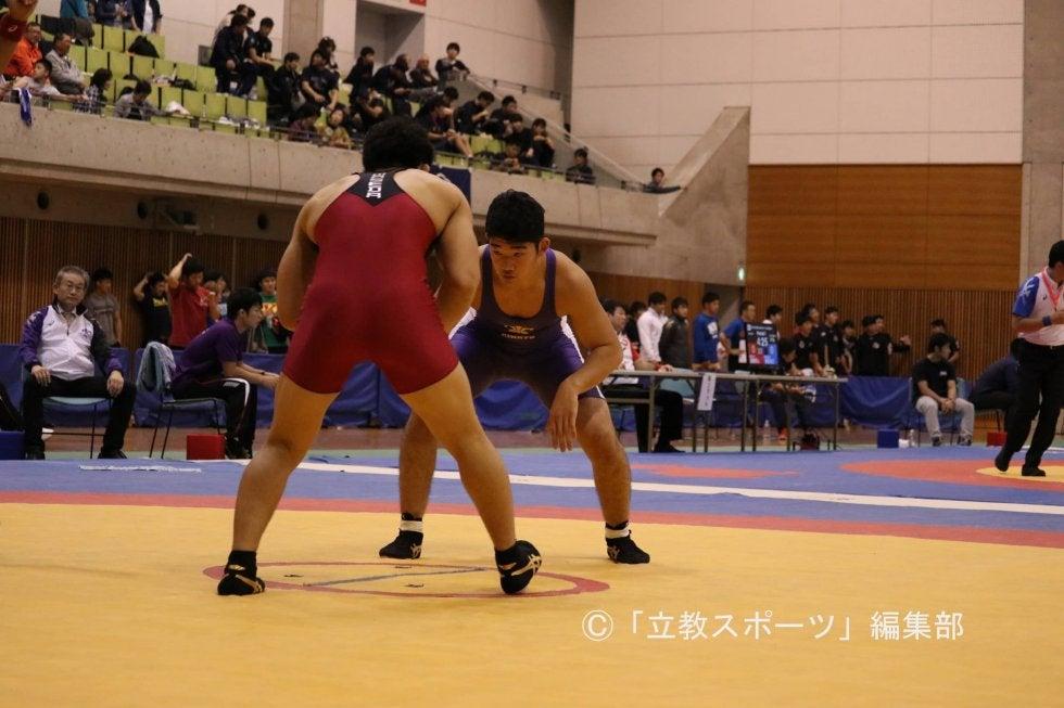 レスリング部】横田、高校の先輩・山﨑に完敗も「戦えてよかった」 芝 ...
