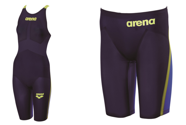 FINA承認の競泳用トップモデル水着「アルティメット・アクアフォース」発売…デサント