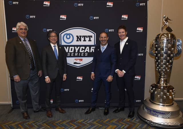 NTTグループがインディカーのシリーズ冠スポンサーに。《写真提供 INDYCAR》