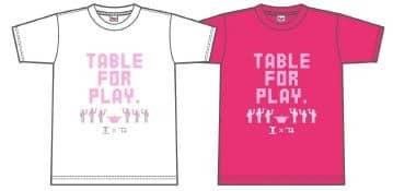 前田高志と高校生クリエイターによる「Tリーグ×T4 TOKYO」コラボ卓球グッズ発売