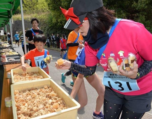 宇治スイーツを食べて走る「宇治太陽が丘スイートリレーマラソン」4月開催