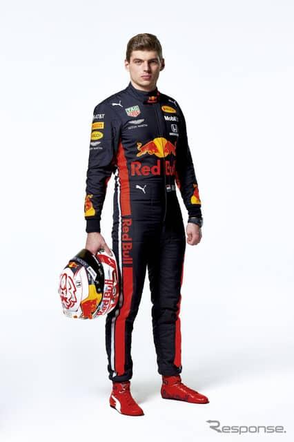 M.フェルスタッペン《写真提供 Red Bull》