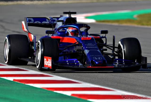 トロロッソSTR14・ホンダ《写真提供 Toro Rosso》