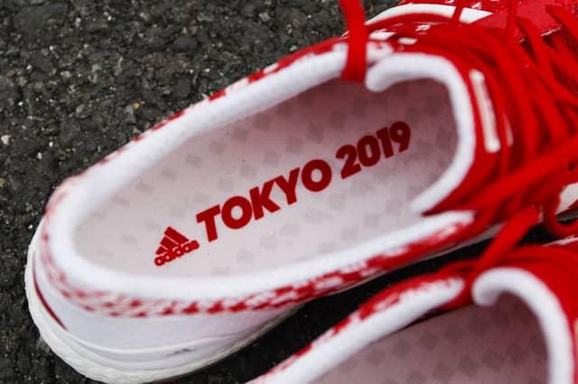アディダス、東京をテーマにしたランニングシューズ「Adizero Japan 3」限定モデル発売