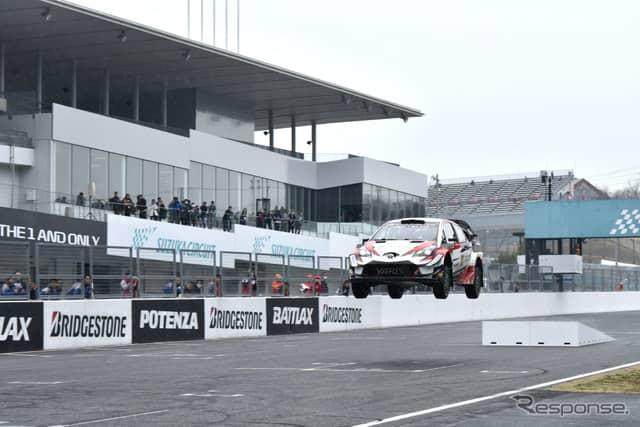 モースポフェス2019 WRCストレートパフォーマンス《撮影 雪岡直樹》