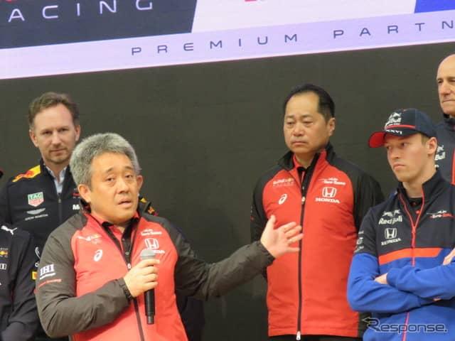 山本氏は「まず1勝を」と語った。《撮影 遠藤俊幸》
