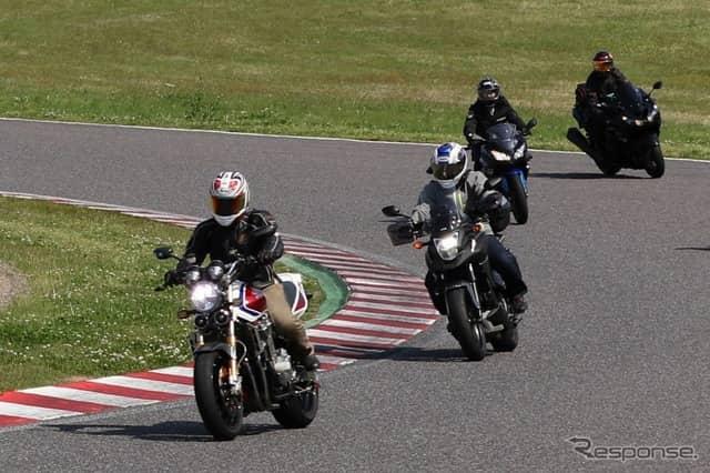 MotoGPサーキットラインイメージ